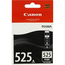 2x Canon Genuine PGI-525BK BLACK Ink For IP4800 IP4950 IX6550 MG5150 - 311 Pages