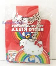 Hello Kitty Con 2014 Exclusive Rainbow Necklace 40th Anniversary NWT