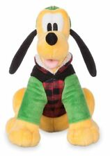 NWT Disney Store Pluto Holiday Plush Mini Bean Bag 8 1/2'' 2017 Doll toy