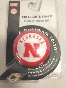 Nebraska State Collegiate Yo-Yo NEW IN PACKAGE Extra String & Trick Book