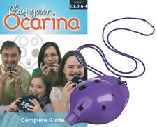 OCARINA Purple 6-hole + COMPLETE Play Your Ocarina Books 1-4, FREE DELIVERY