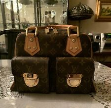 bee3bf78ede2 100% AUTHENTIC LOUIS VUITTON MANHATTAN PM HANDBAG - PREOWNED GREAT  CONDITION!