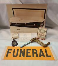 Funeral Home Advertising Lot Vintage Mortuary Casket Supplies