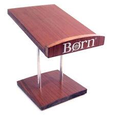 Born Wood & Metal Shoe Display Holder Riser 11.5� Length 8 1/4� Wide
