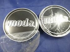 MODA BLACK CUSTOM WHEEL CENTER CAPS    #MD02-CAP   (for 2 caps)