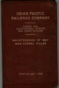 Union Pacific Railroad Company Eastern & Southern-Central Districts