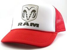 Dodge Ram Trucks Trucker Hat mesh hat snapback hat red new adjustable vintage