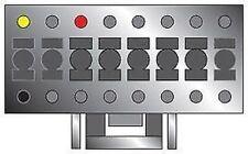 NEUF pc3-423 PIONEER 16 poussoir à ISO Autoradio Câble alimentation