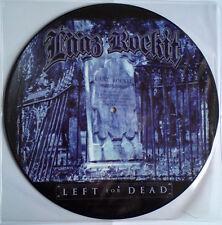 LAAZ ROCKIT - LEFT FOR DEAD - LP PICTURE DISC BRAND NEW 2008