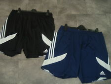 SIZE XL ADIDAS CLIMALITE 2 X MENS LIGHTWEIGHT SHORTS BLACK NAVY