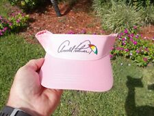 ARNOLD PALMER UMBRELLA PINK GOLF VISOR LOW RIDER  BRAND  NEW IN PLASTIC
