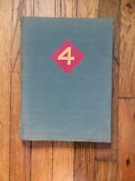 The Fourth Marine Division in World War Two by Proehl, Capt. Carl. First Edition