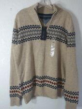 Tommy Hilfiger 1/4 Zip Pull Over Sweater SKU#1062800 Size L BNWT