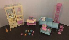 2000 Barbie Family Room Playset, All Around Home Collection