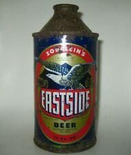 Old 1940's Zobelein'S Eastside Cone Top Beer Can Los Angeles, California Irtp