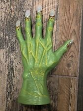 Halloween Creepy green hand With Lighted Nails