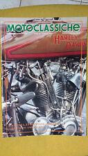 MOTOCLASSICHE n.50 aprile 1992 HARLEY DAVIDSON allegato a Ruoteclassiche