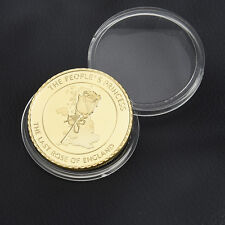 Diana Princess Of Wales Rose Gold Plated Commemorative Coin Collectible Gift