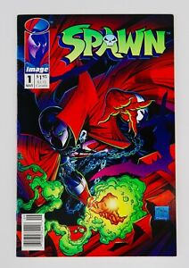 Spawn #1 Newsstand First Appearance 1st App Todd McFarlane Image Key No Reserve!