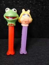 Kermit and Miss Piggy PEZ Holders