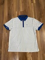 """William """"Bill"""" Murray Mens THIS IS THE YEAR Golf Polo Shirt Chicago Cubs XL"""