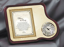 Wedding Gift To Daughter Or Son From Parents Present Bride Groom Poetry Clock