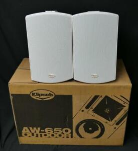 Klipsch AW-650 Outdoor speakers (White) PAIR