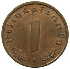 (E73) - Deutschland Germany - 1 Reichspfennig - 1938 A - Bro - XF-UNC - KM# 89