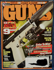 Magazine *GUNS* November 2018 !!LUGER P-08 9mm PISTOL!!, **CZ P-10C 9mm PISTOL**