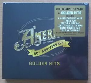 AMERICA 50th Anniversary Golden Hits CD neuf scellé / sealed