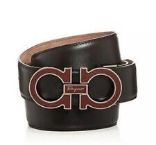 Authentic Salvatore Ferragamo Paloma Enamel Buckle Belt Size 90/36