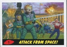 Mars Attacks Invasion Complete 58 Card Parallel Heritage Base Set