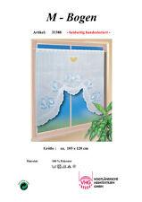 Scheibengardine M-Bogen 120 x 105 cm (BxH) inkl. Vitragenstange