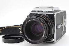 **Mint** Hasselblad 500 CM C/M W/ 80mm f/2.8 CF Lens and Strap from Japan-#932