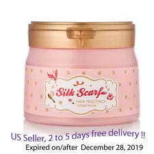 ETUDE HOUSE SILK SCARF HAIR MOIST PACK 180 ML + Free Gift Sample !!