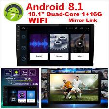 """Android 8.1 10.1"""" 2 DIN QUAD-CORE 1+16G Radio Stereo Auto GPS WiFi Specchio Link"""