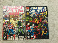 The Infinity Gauntlet #2 3 Marvel Thanos Avengers Endgame
