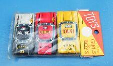 CUTE VINTAGE JAPAN TIN TOYS SET OF 3 CAR FACTORY SEALED 60's