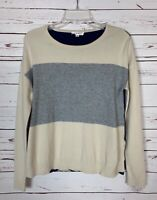 THML Anthropologie Women's XS Extra Small Beige Long Sleeve Spring Sweater Top