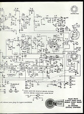 Lafayette HB 23 CB Radio Original Factory Schematic Diagram