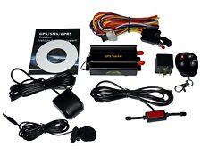 Tiempo real Vehículo Coche GSM GPRS GPS Rastreador Control Sistema De Alarma