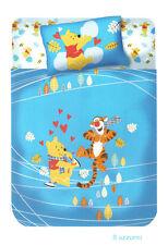 Copriletto non trapuntato Panama Winnie the Pooh Fantasia Azzurro Caleffi Disney
