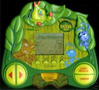 1990s DISNEY A BUG'S LIFE ELECTRONIC HANDHELD VIDEO GAME TIGER PIXAR LCD TOY