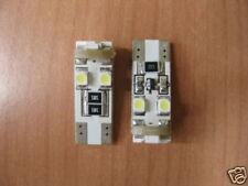 2 LAMPADE LED T10 W5W 8 SMD RESISTENZA NO ERRORE MILANO