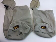 Two REI Tan USA Bag Carrier Carry Sack Stuff to Make Pillow Camp Hike