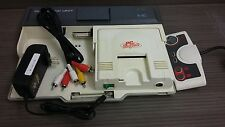 Pc-Engine console + interface unit - Work Japanese Hucard only