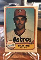 1981 Fleer #57 Nolan Ryan Baseball Card - Free Shipping