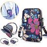 Women Floral Print Girls Cross Body Cell Phone Shoulder Pouch Bag Purse Wallet