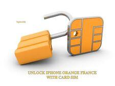 Liberar IPHONE ORANGE FRANCIA con TARJETA SIM 100% SEGURO! PONER Y LISTO