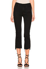 MOTHER INSIDER CROP STEP FRAY JEANS IN NOT GUILTY W25 UK 6/8